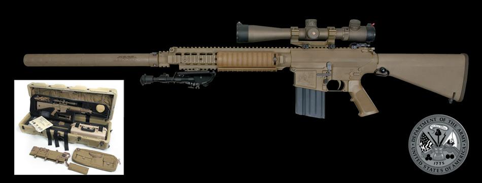 M110 semi-automatic sniper  M110 Semi Automatic Sniper System