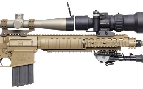 "KAC's M110 featured on ""Tactical Arms"""