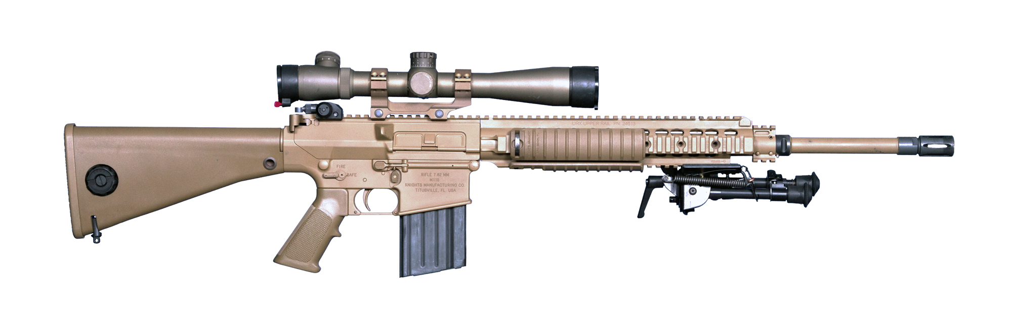 M110 Sniper Rifle Airsoft M110 - Knight's Armame...