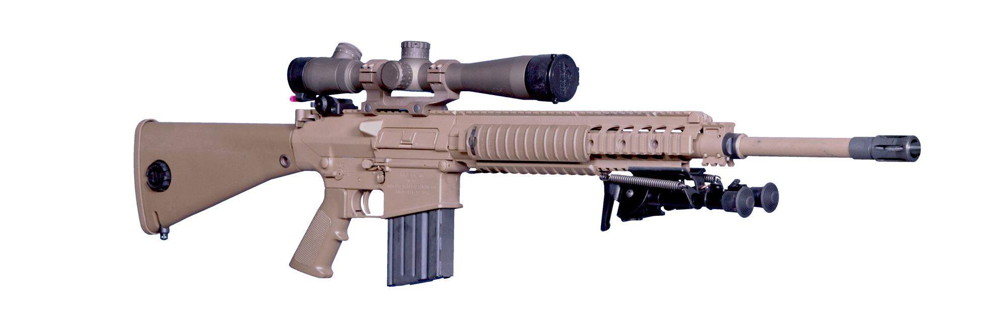 M110 - Knight's Armament M110 Sniper Rifle Suppressed