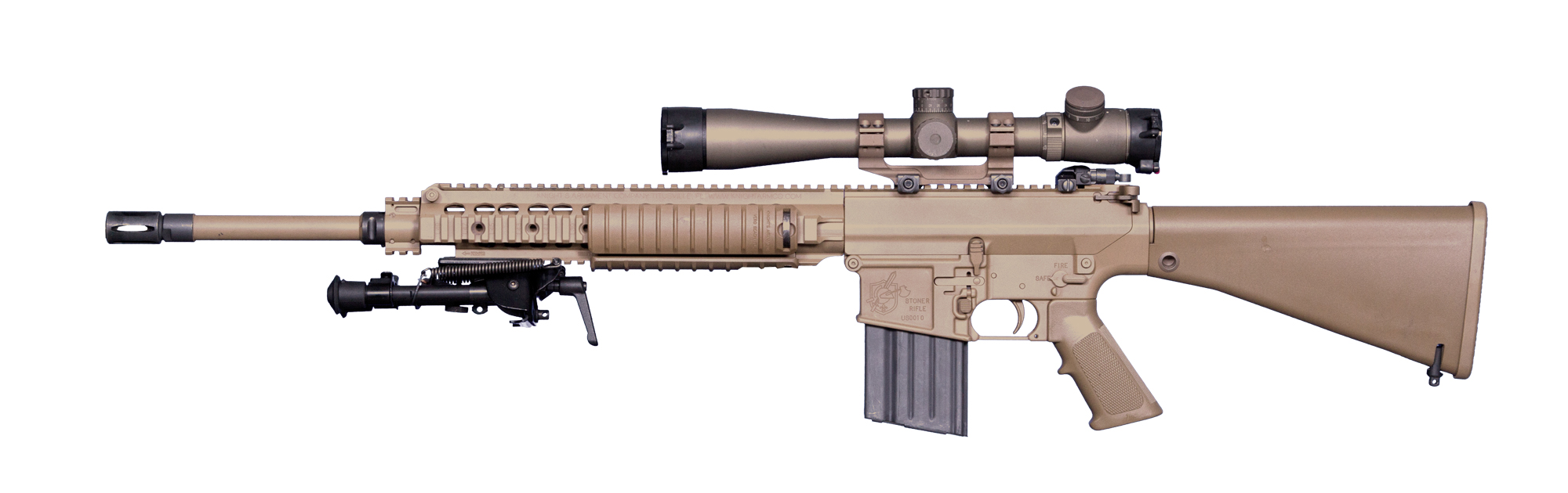 M110 - Knight's Armament M110 Sniper Rifle Suppressed