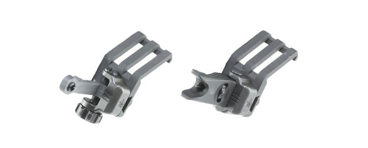 45 Offset Folding Micro Sight Kit 300 Meter