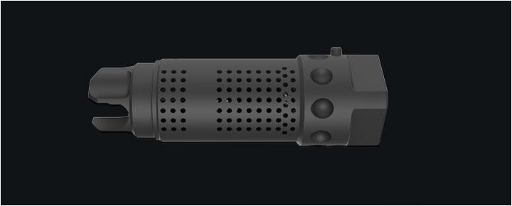 3/4 x 24 762 MAMS Muzzle Brake