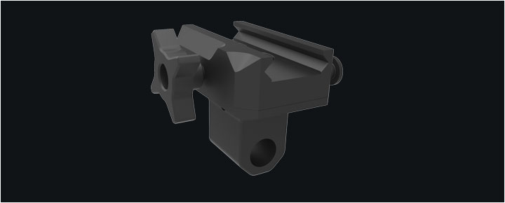 QD Bipod Mount Swivel Pan