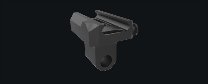 QD Bipod Mount Swivel