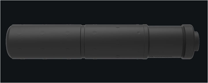 H&K USP-T .45 Caliber Suppressor