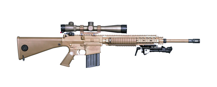 M110 Semi-Automatic Sniper System M110 Sniper Rifle Suppressed