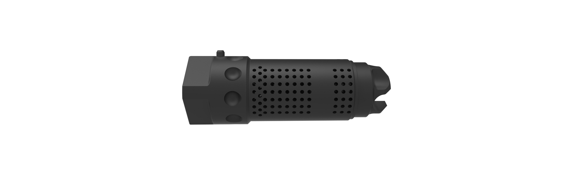 7 62mm QDC Flash Suppressor Kit, 3/4